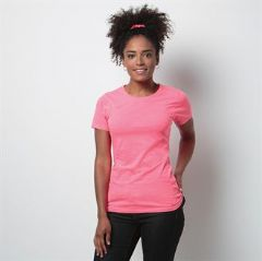 Personalised Ladies Superwash® 60° fashion fit T-shirt (KK754)